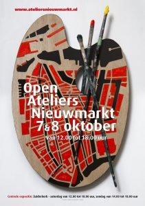 Open Ateliers Nieuwmarkt, Amsterdam 7 and 8 October 2017