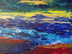 Abstr12, 2015, Acr on Canvas, 60x80cm, 24x32in