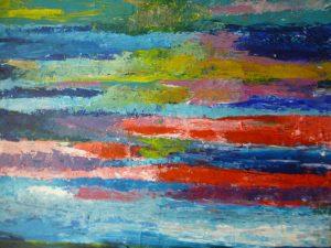 Abstr16, 2015, Acr on Canvas, 70x80cm, 28x32in