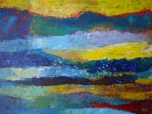 Abstr17, 2015, Acr on Canvas,50x70cm, 20x28in